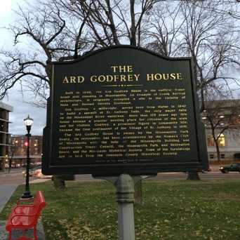 Photo of The Ard Godfrey House in Nicollet Island, Minneapolis