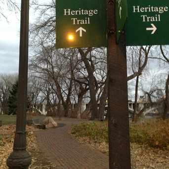 Photo of Heritage Trail in Nicollet Island, Minneapolis