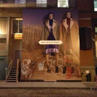 Photo of Balenciaga in SoHo, New York