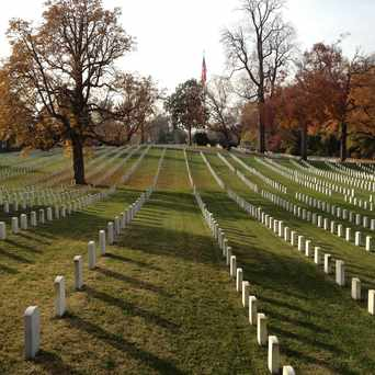 Photo of Alexandria National Cemetery in Southwest Quadrant, Alexandria