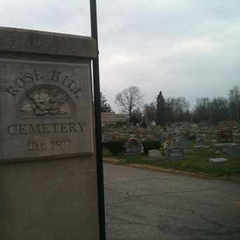 Photo of Rose Hill Cemetery in Bloomington