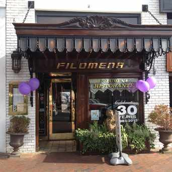 Photo of Filomena Ristorante in Georgetown, Washington D.C.