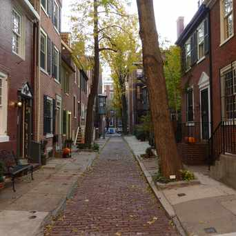 Photo of South Warnock Street in Washington Square West, Philadelphia