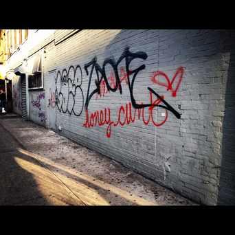 Photo of Eldridge Street Graff in Bowery, New York