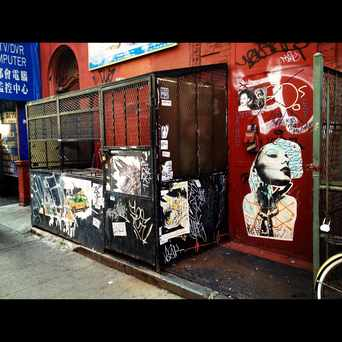 Photo of Eldridge Street Graff in Bowery, New York