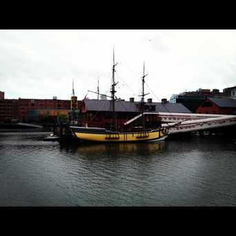 Photo of Boston Tea Party Ships and Museum in D Street - West Broadway, Boston