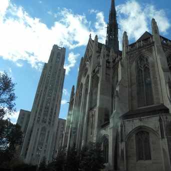 Photo of Heinz Memorial Chapel in North Oakland, Pittsburgh