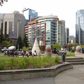 Photo of Sien Lok Park in Chinatown, Calgary