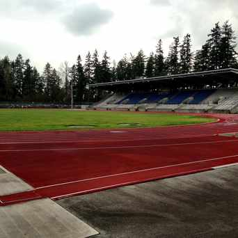 Photo of Swamguard stadium in Burnaby