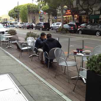Photo of Columbus Avenue Parklet in North Beach, San Francisco