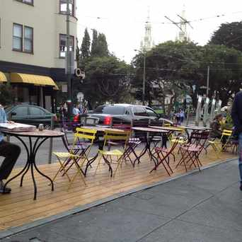 Photo of Stockton Street Parklet in North Beach, San Francisco