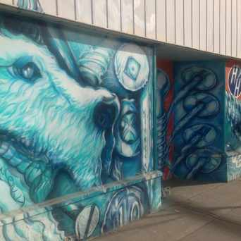 Photo of Hillhurst Hardware Mural in Sunnyside, Calgary