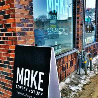 Photo of MAKE Coffee + Stuff in Winnipeg