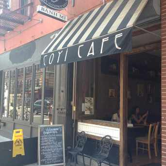 Photo of Coyi Cafe in East Village, New York
