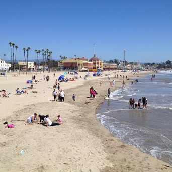 Photo Of Main Beach In Santa Cruz