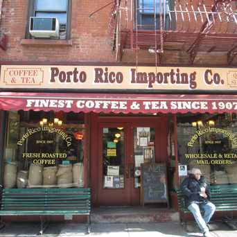 Photo of Porto Rico Importing Co in Greenwich Village, New York