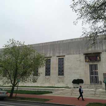 Photo of Folger Shakespeare Library in Capitol Hill, Washington D.C.