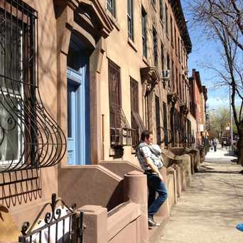 Photo of Hip Dad in Park Slope, New York