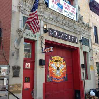 Photo of Squad Co. 1 in Park Slope, New York