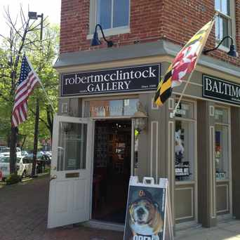 Photo of Robert McClintock Studio & Gallery in Fells Point, Baltimore