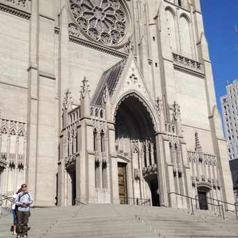 Photo of Grace Cathedral in San Francisco