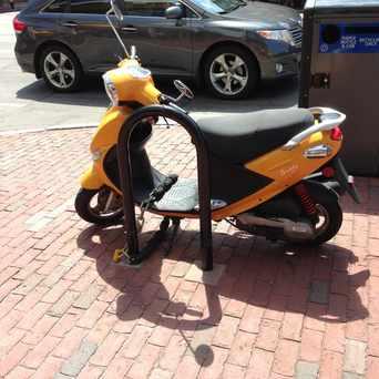 Photo of Bike Locker in West End, Boston