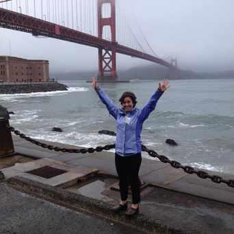 Photo of Golden Gate Bridge/Parking Lot in Presidio National Park, San Francisco