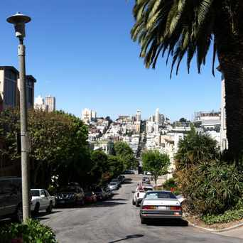 Photo of Greenwich Street in Telegraph Hill, San Francisco