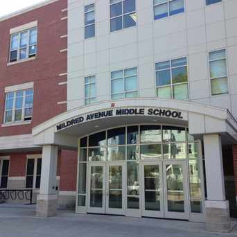 Photo of Mildred Avenue Middle School in Wellington Hill, Boston