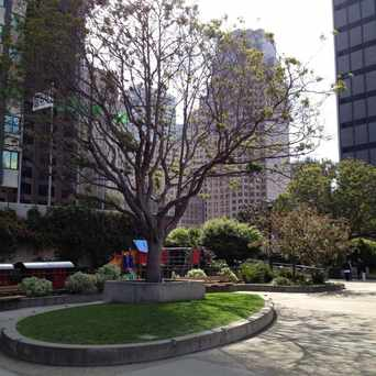 Photo of St Mary's Square in Chinatown, San Francisco
