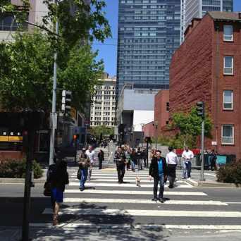 Photo of Yerba Buena Lane in South of Market, San Francisco