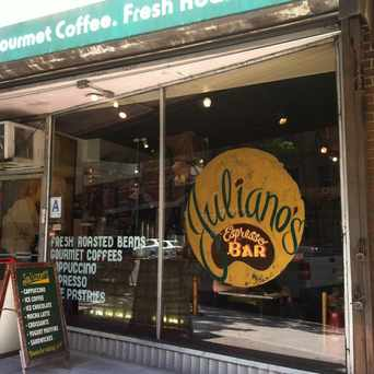 Photo of Juliano Gourmet Coffee in Upper East Side, New York
