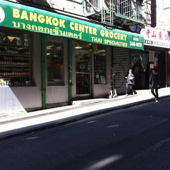 Photo of Bangkok Center Grocery in Chinatown, New York
