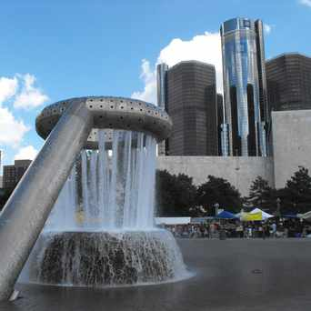 Photo of Horace E. Dodge Fountain in Detroit