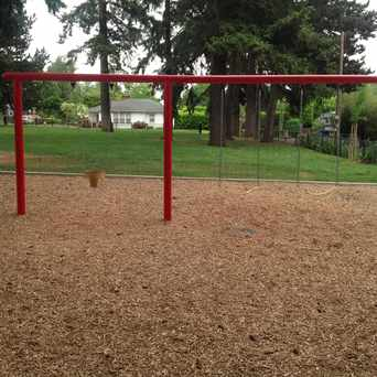Photo of Swing sets in Carter Park, Vancouver