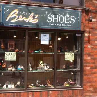 Photo of Berk's Shoes & Clothing Store in College Hill, Providence