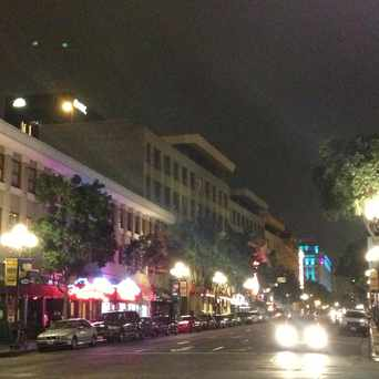 Photo of Intersection of 4th Avenue and G Street in Gaslamp, San Diego