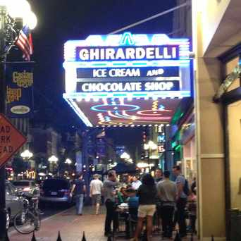 Photo of Ghirardelli Chocolate in Gaslamp, San Diego