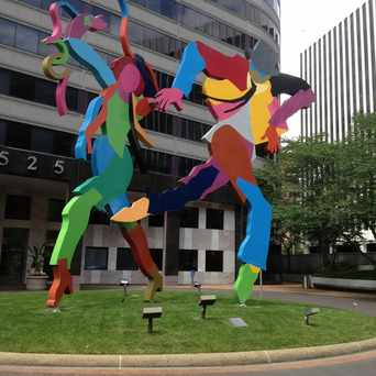 Photo of Pas de Deux By Miriam Schapiro in North Rosslyn, Arlington