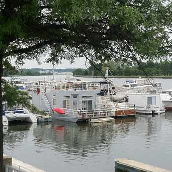 Photo of Houseboats in Washington Marina in Southwest - Waterfront, Washington D.C.