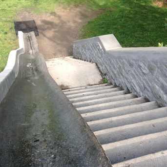 Photo of Burnett Woods Slide in CUF, Cincinnati