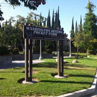 Photo of Washington Irving Pocket Park in UNNC, Los Angeles