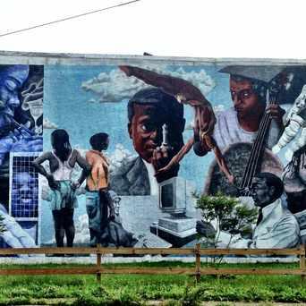 Photo of PMAP Irving St Mural in Cobbs Creek, Philadelphia