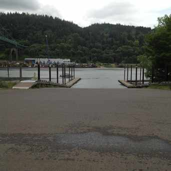 Photo of Boat Launch in Cathedral Park, Portland