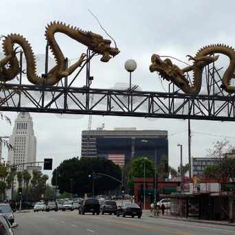 Photo of Gateway to Chinatown in Historic Cultural, Los Angeles