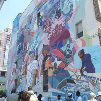 Photo of The Roots Mural in Avenue of the Arts South, Philadelphia