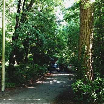 Photo of Garden Hills Community House Sign in Garden Hills, Atlanta