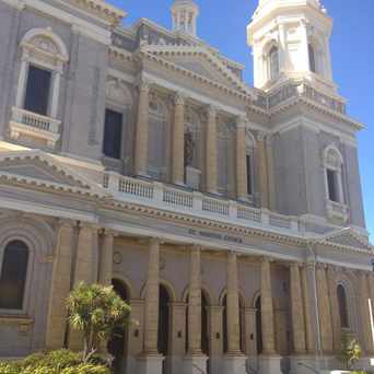 Photo of St. Ignatius Church in Lone Mountain, San Francisco