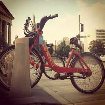 Photo of Capital Bikeshare: Thomas Circle in Logan Circle - Shaw, Washington D.C.