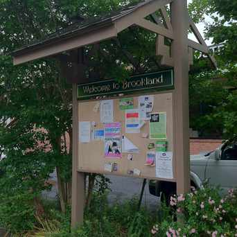 Photo of Brookland Community Sign in Brookland, Washington D.C.
